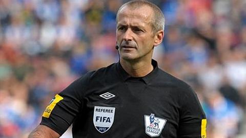 Martin Atkinson selected to referee Palace v Watford May 27.