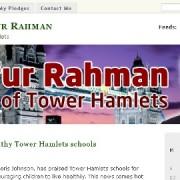 Mayor Lutfur Rahman of Tower Hamlets