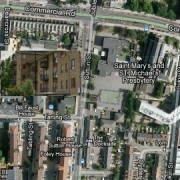 Location of suspicious death of pensioner, 88, Sonali Gardens, Sutton Street E1. Pic: Google