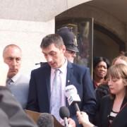 Steven Carter, the father of Tia Sharp, says murderer Stuart Hazell should hang. Pic: Merissa Henry