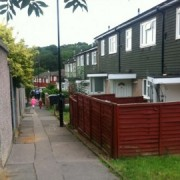 The Lindens, New Addington where Christine Bicknell lived with Stuart Hazell