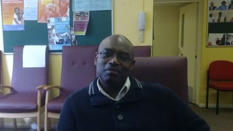 Victor McAllister chairperson for Hackney Caribbean Elderly Organisation Pic: Benedikte Granvig