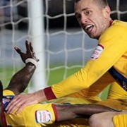 Wilfried Zaha scores two goals in second half to defeat Brighton in second leg of semi-final play-off