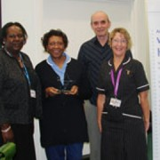 Winners of the Croydon Health Services Nursing Awards