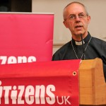 Archbishop of Canterbury, Justin Welby delivers keynote speech at civic society summit. Photo: Chris Jepson.