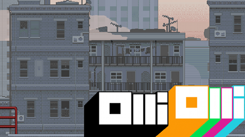 OlliOlli is the latest game by the game developers Roll7 based in New Cross