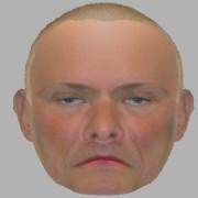 Efit-v facial composite of burglar. Pic: Metropolitan Police
