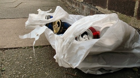 Persistent street drinkers and beggars will be targeted in the crackdown. Photo: Alan Stanton.