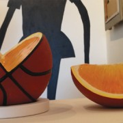 """Untitled Orange"" by Meret Probst. Photo: Ana Cristina LoCus"