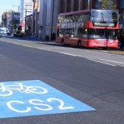 Cycle Superhighway 2 runs from Bow to Aldgate pic: Flickr (Sludgegulper)