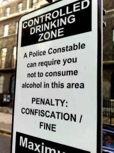 Warning: Croydon Council's message to street drinkers.