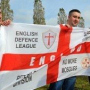 English Defence League. Pic: Eastlondonlines