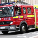One of 14 LFB fire engines facing the cuts. Photo: Vera Kratochvil