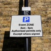 Hackney parking sign photo