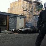 Mare Street during 2011 riots. Photo by Scott Temple