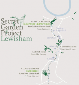 Plans for the Secret Garden Project, Lewisham