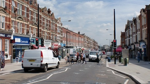 Regeneration schemes are transforming Sydenham's high street Photo: Bill Konos