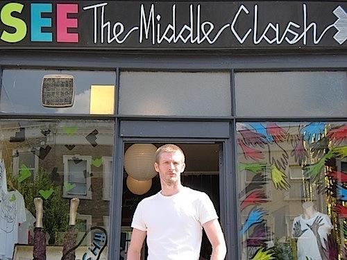 Stuart Simmonds has big ideas for his little shop