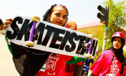Dance Disobedience. Pic: Skateistan