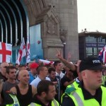 EDL protestors. Pic: David Holt