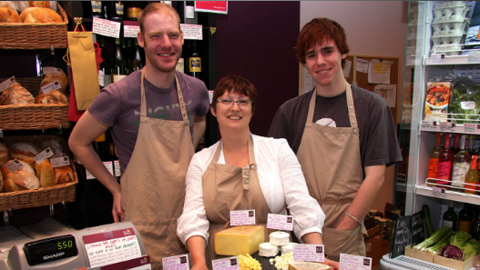 El and some of her staff at last year's Christmas tasting event. Pic: El's Kitchen