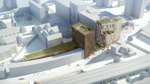 Hackney Fashion Hub CGI image. Pic: Hackney Fashion Hub