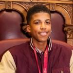 The current Young Mayor of Lewisham, Jamel Higgins. Photc: Lewisham Council.