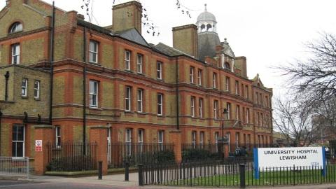 Lewisham Hospital. Pic: Juan Luis Passarelli