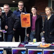 Goldsmiths Students' Union set up a stall to inform the students about Thursday's strike. Pic: Courtney Greatrex