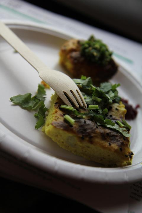 saffron potato kookooGIMPED