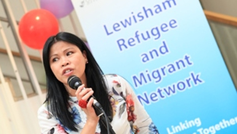 Charities partner up to tackle mental health among migrants. Pic- Lewisham Refugee and Migrant Network