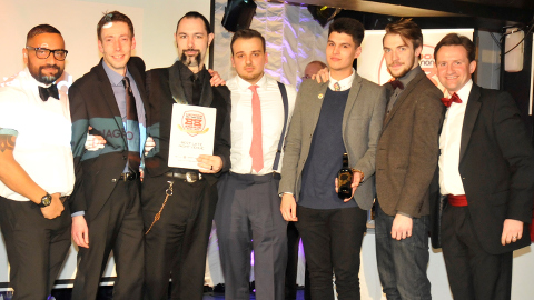 Bad Apple staff win two awards. Pic: Croydon BID