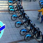 Boris Bikes. Pic: Leshaines123