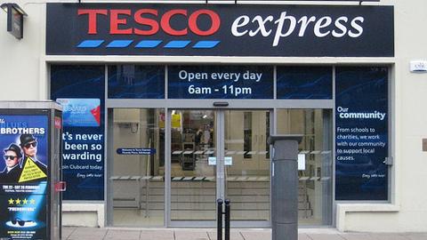 Tesco Express. Pic: Edinburgh Greens
