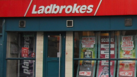 Ladbrokes defended their place on the high street. Pic: Lucy Fisher