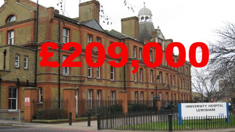 Lewisham Hospital appeal, true cost revealed Pic: Leigh Day