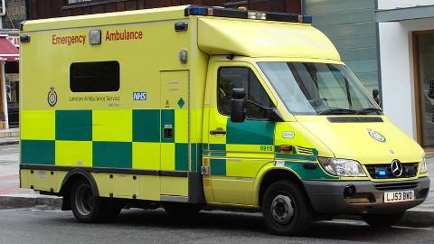 London ambulance on call Pic: Oxyman