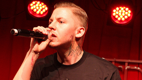 Professor Green arrested for perverting the court of justice. Pic: http://tinyurl.com/Eva-Rinaldi