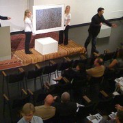 art auction by M C Morgan