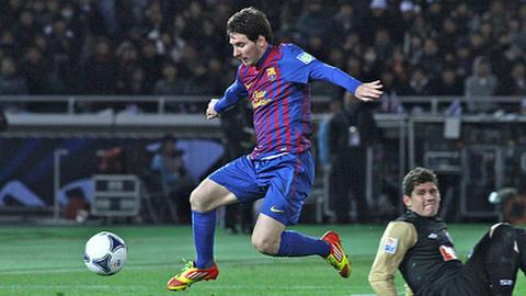 Lionel Messi. Pic: Christopher Johnson