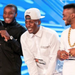 Rough Copy sang an En Vogue classic to win their place in the next round. Pic: ITV