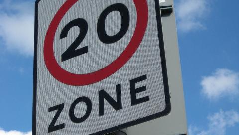 20 mile per hour zone Pic: Edinburgh Green Party