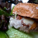 Street food burger Pic: Ron Dollete