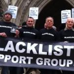 Blacklist campaigners Pic: Chiara Rimella