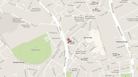 Reeves Corner, Croydon Pic: Google Maps