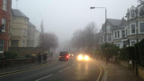 Fog in New Cross Pic: Mathilde Ive