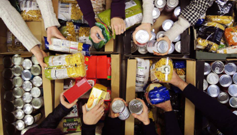 Foodbank donations Pic Source: Trussell Trust