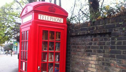 Phonebox library Pic: Chiara Rimella