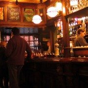 Inside a London pub Pic: Not Forgotten