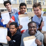 GCSE Students. Pic: Hammersmith and Fulham